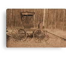 """A Classy Ride"" - Classic Passenger Buggy Canvas Print"