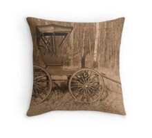 """""""A Classy Ride"""" - Classic Passenger Buggy Throw Pillow"""