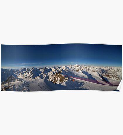 Alpine Skiing Poster
