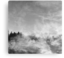 wood in the clouds  Canvas Print