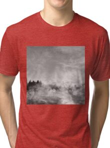 wood in the clouds  Tri-blend T-Shirt