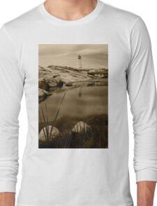 Peggy's Cove Lighthouse Long Sleeve T-Shirt