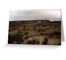 Twilight Grasslands Greeting Card