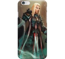 Female Crusader iPhone Case/Skin