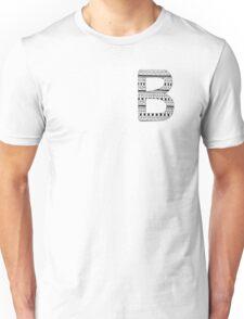 'B' Patterned Monogram Unisex T-Shirt