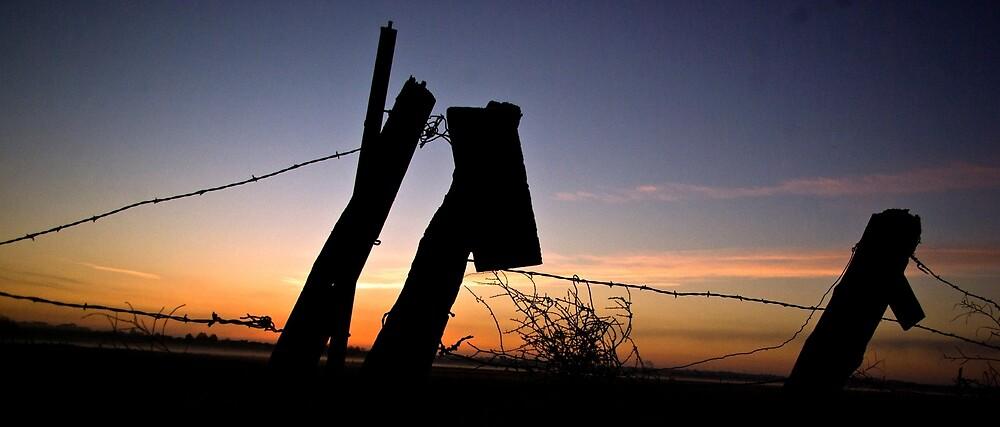 Sunrise over Cascade Valley by Harv Churchill
