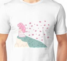 Rose on the hill Unisex T-Shirt