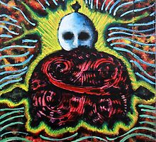 Fractal Buddha by Mrjohnnyx