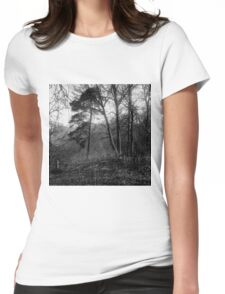 traditional russian landscape Womens Fitted T-Shirt