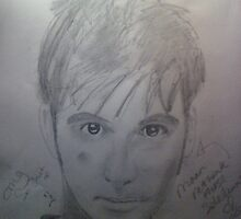 david tennant portrait by meowcakes