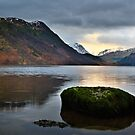 Ullswater - Last Light by David Lewins