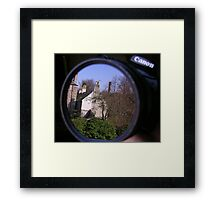 Through the lens Framed Print