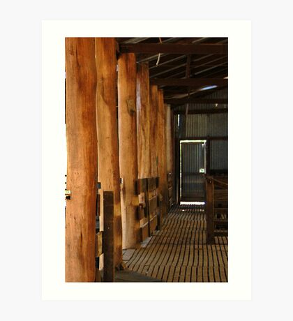 Shearing Shed - Frankland, Western Australia Art Print