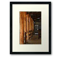 Shearing Shed - Frankland, Western Australia Framed Print