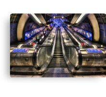 Down From A Cloud. Up From The Underground. Canvas Print