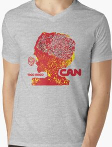 Can Tago Mago Mens V-Neck T-Shirt