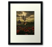 """""""A Touch Of Heaven"""" Framed Print"""