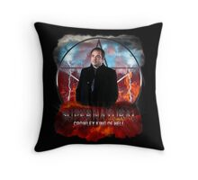Supernatural Crowley King of Hell Throw Pillow