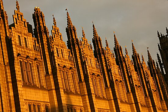 Spires in the sun by christopher363