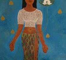 Sri Lankan Goddess by KANSart