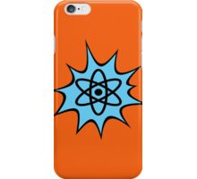 Dynamic Atomic symbol cartoon style science geek gifts iPhone Case/Skin