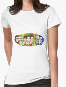 Jim Carrey - Chameleon Womens Fitted T-Shirt