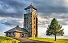 The Observation Tower at Quabbin Reservoir by Evelina Kremsdorf