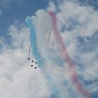 Red Arrows 5 by dougie1page2