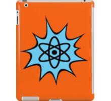 Dynamic Atomic symbol cartoon style science geek gifts iPad Case/Skin