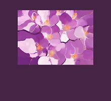 Spring Abstract-Crocus Womens Fitted T-Shirt