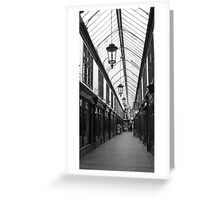 Cardiff Arcade Greeting Card