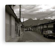 Calle de Granada   Canvas Print