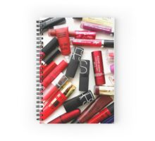 Lipstick Addiction Spiral Notebook