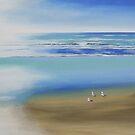 """ White Light Beach 2"" Bayview by Taniakay"