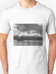 Lake Nahuel Huapi, Patagonia, Argentina (Black & white) T-Shirt