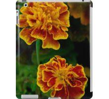 Marigolds by sunset iPad Case/Skin