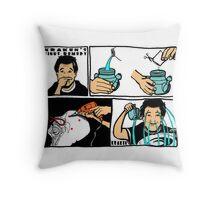 Sinus Remedy Throw Pillow