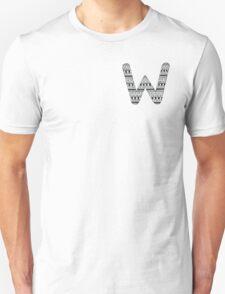 'W' Patterned Monogram T-Shirt