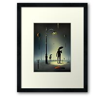 Tesouras. Framed Print
