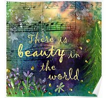 Beauty in the World Poster