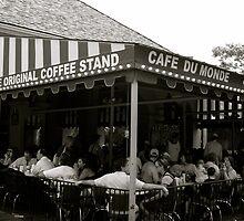 Cafe Du Monde- New Orleans, LA by Amanda Yetman
