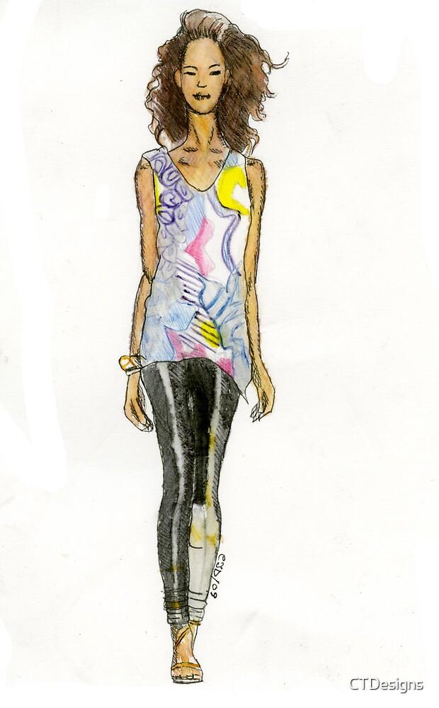 fashion illustration 2 by CTDesigns
