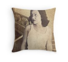 Hasty Departure Throw Pillow