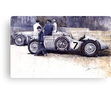 First Met Up Talbot Lago Le Mans 1950 Canvas Print