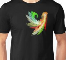 Colorful Bird  fractal abstract Unisex T-Shirt