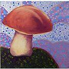 Chestnut Bolete--Mushroom by KFStudios