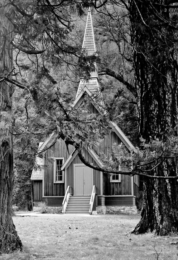 Yosemite House of God by Harv Churchill