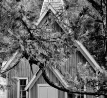 Yosemite House of God Sticker