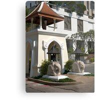 Streetscape, Hua Hin Hilton Hotel. Metal Print