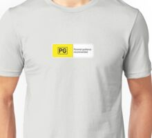 Rated PG Unisex T-Shirt